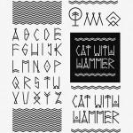 alfabet i logo skadanka b-w