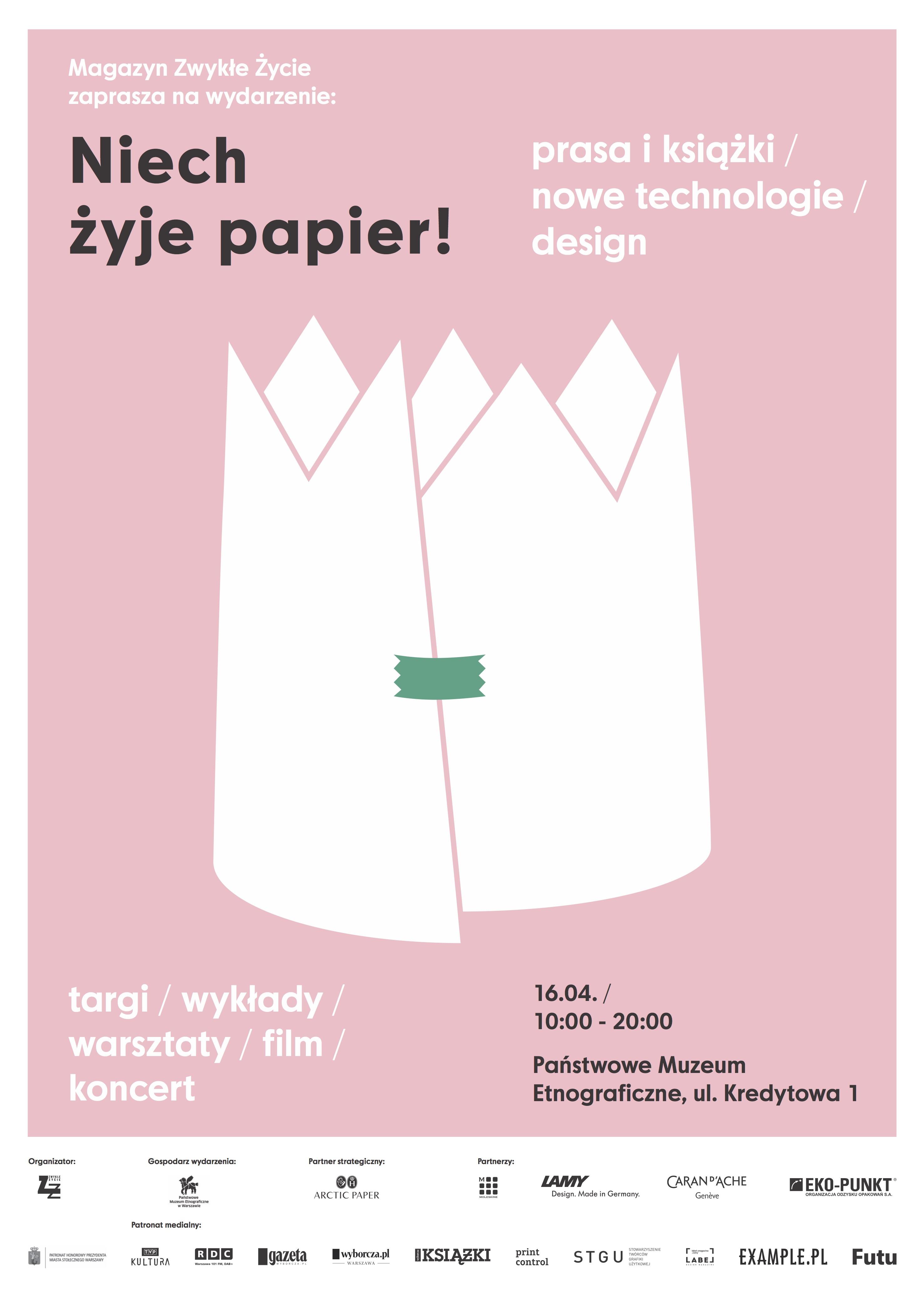 niech_zyje_papier_poster